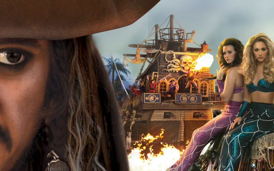 See Pirates and Mermaids at Pirates Voyage Dinner & Show