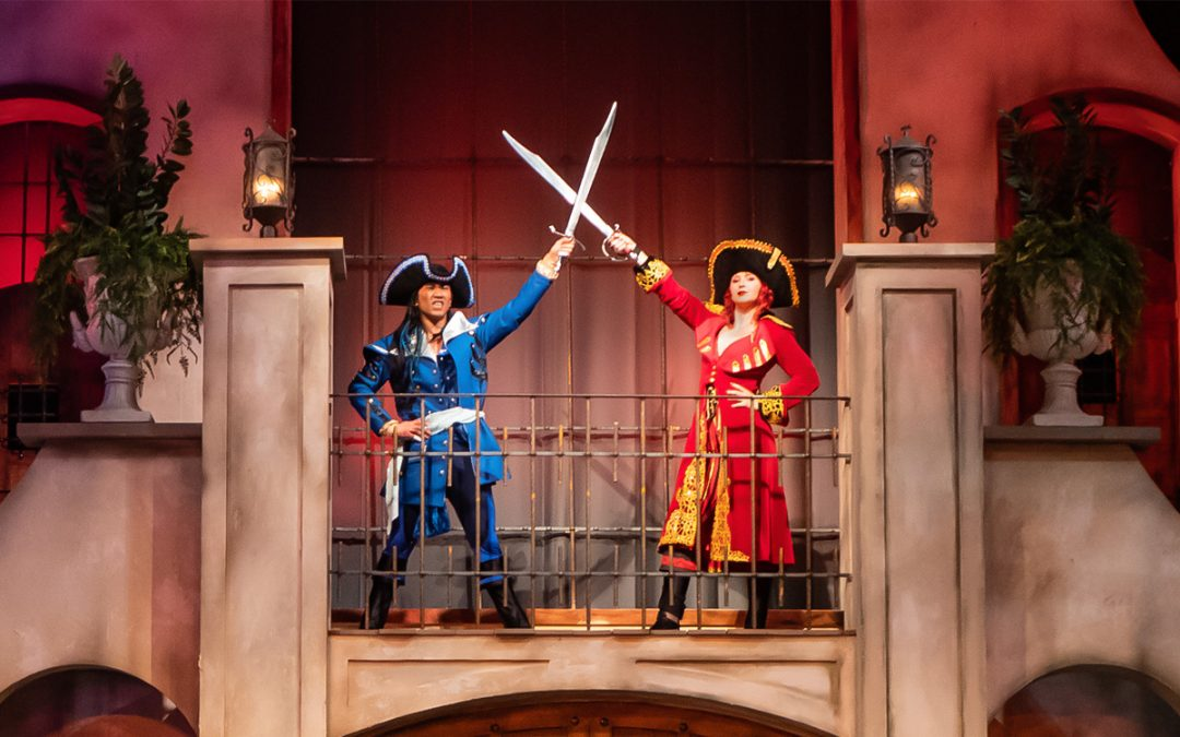 Elaborate Costumes Bring Characters To Life At Pirates Voyage