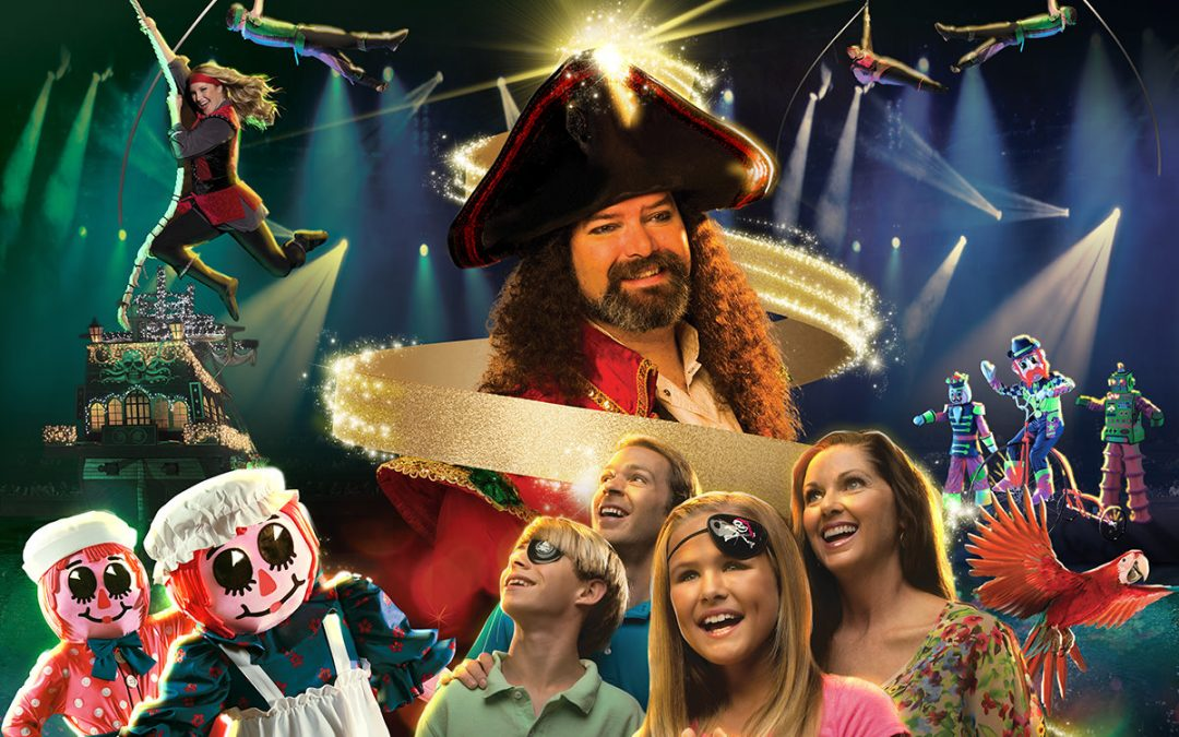 Christmas At Pirates Voyage Begins November 1, 2019, in Myrtle Beach, SC