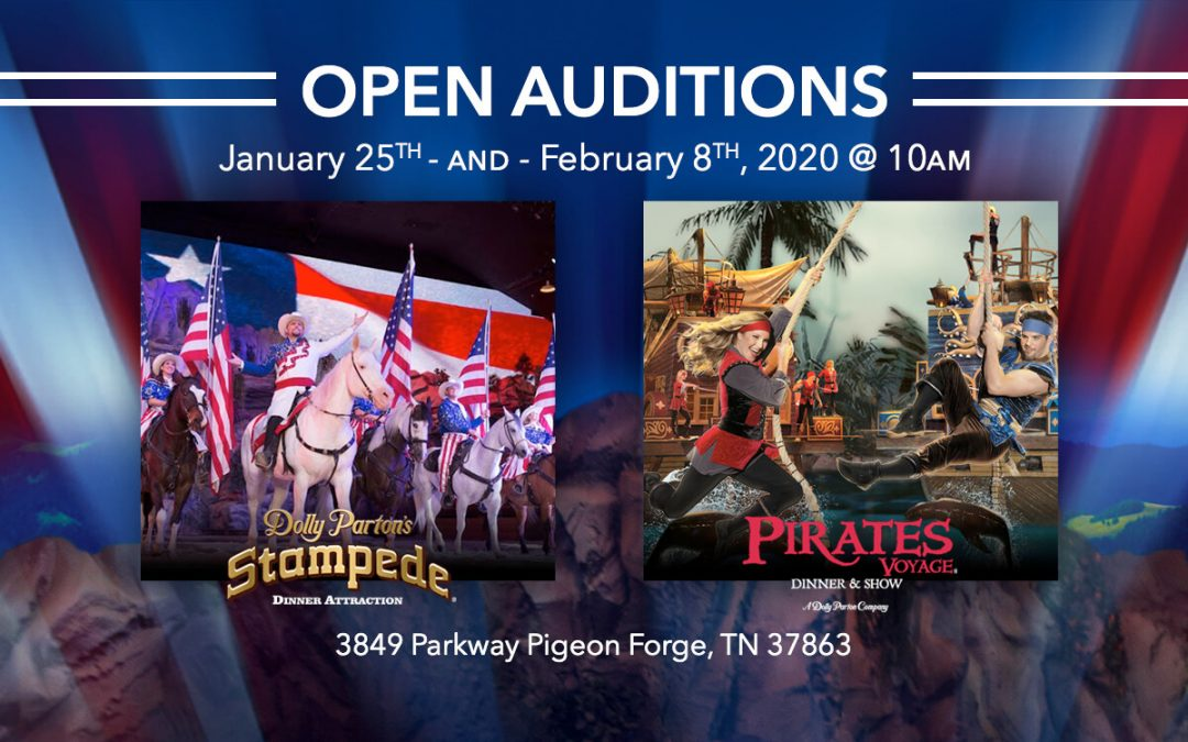 Open Auditions For Pirates Voyage in Pigeon Forge